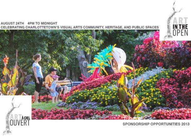 Art in the Open Patron Package 2012B