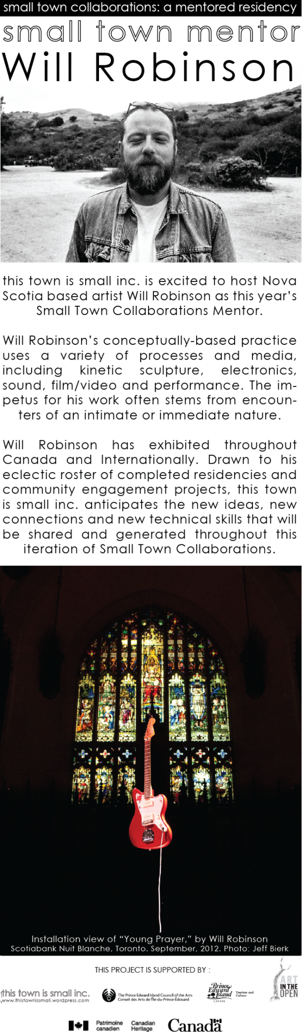 Small town collaborations PAGE 2013