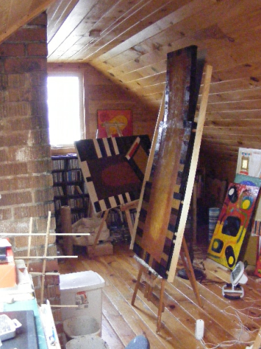 Photo: Stephen MacInnis - Artist's studio, PE